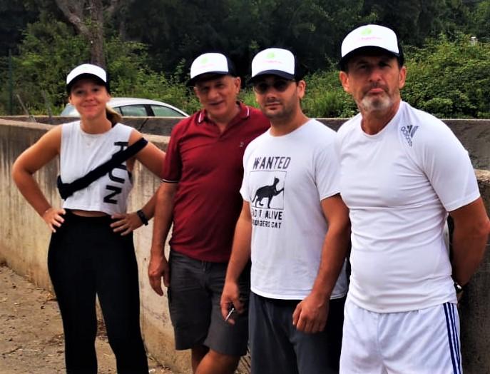 Carlacatalina, Marcellu, Nicolas è Jean-Marc