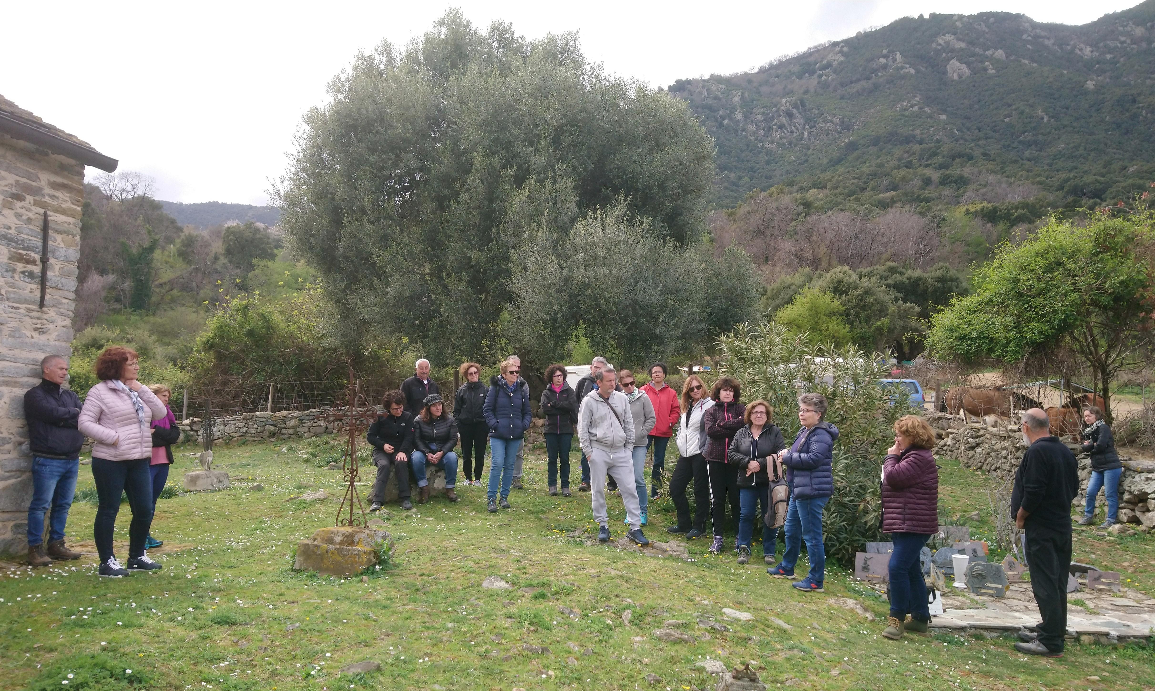 A storia di a cappella Santa Cristina presentata da Ghjacumina Geronimi