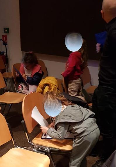 Ghjocu di vistica à u museu di Bastia