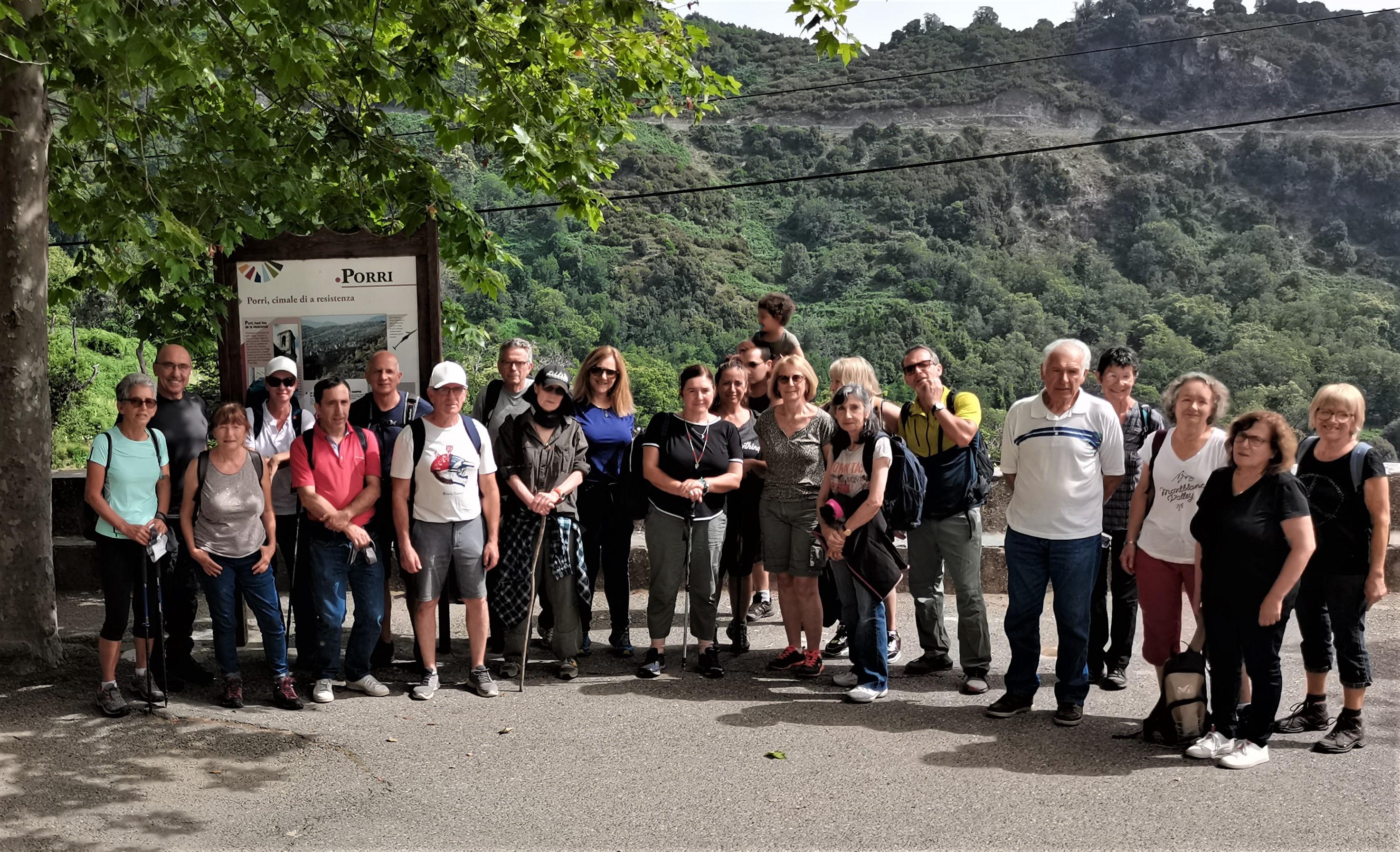 A grotta di a Resistenza in Porri (Casinca)